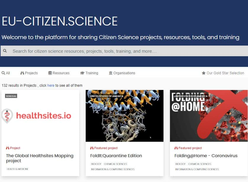 New release of EU-Citizen.Science Platform offers lots of additional features