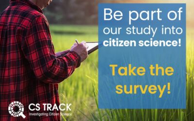 Be part of our study into citizen science!