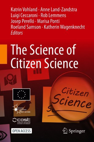 The Science of Citizen Science – new book published by COST Action