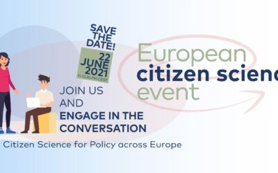 Let's talk about the benefits of Citizen Science for European policy-makers on 22 June