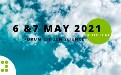 """Presenting CS Track at the annual German conference """"Forum Citizen Science"""", May 2021"""