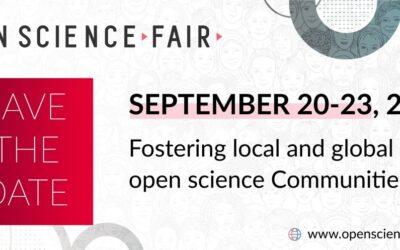 Open Science Fair, 20-23 September