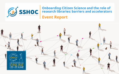 Onboarding Citizen Science and the role of research libraries: barriers and accelerators – Post Event Report