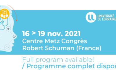 Science & You 2021 Conference, 16-19 November, Metz, France