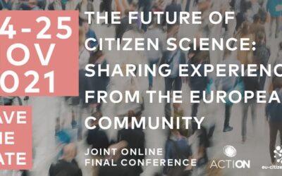 EU-Citizen.Science final conference, 24-25 November