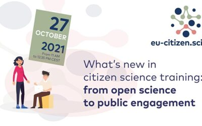 Discover what's new in citizen science training on 27 October